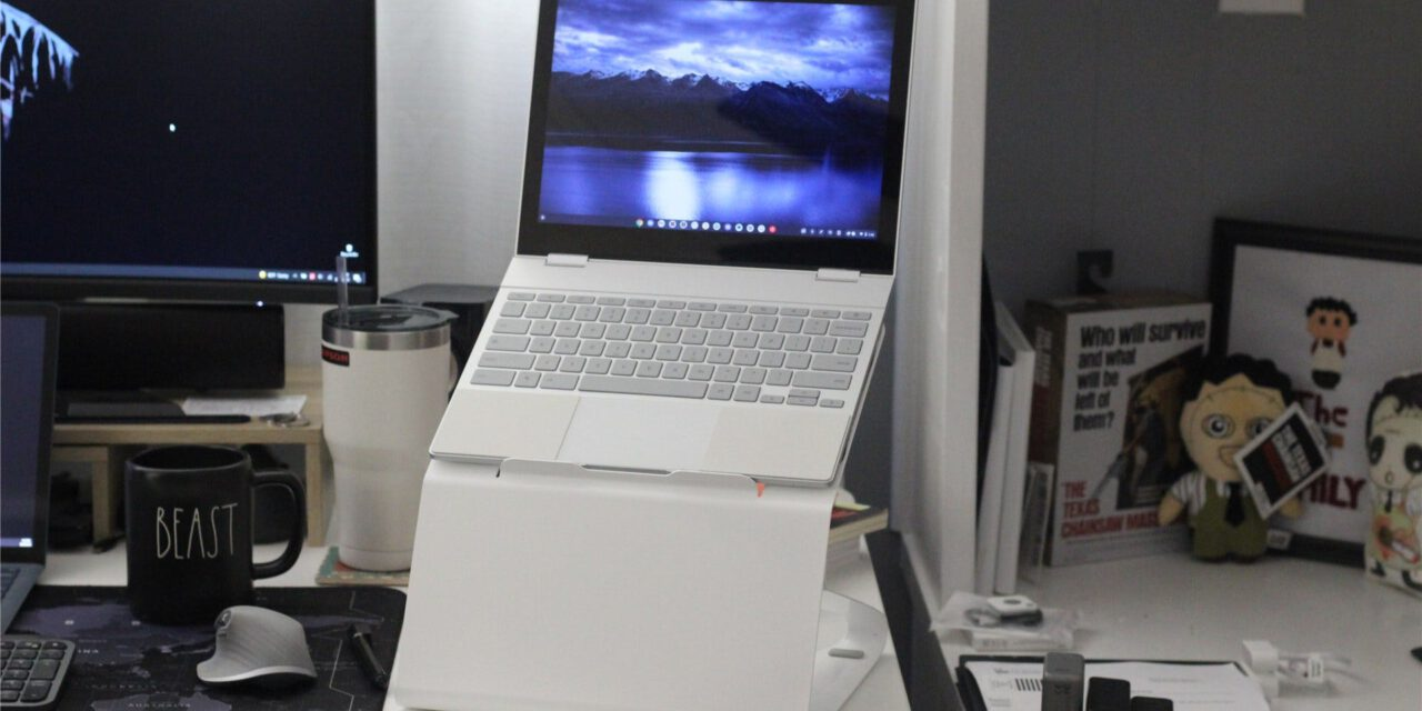 Fluidstance Carry Laptop Stand Review: A Swing and a Overlook