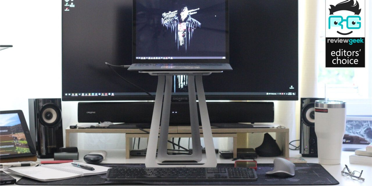 VariDesk Transportable Laptop Stand Review: A Smooth, Slender, Moveable Standing Desk