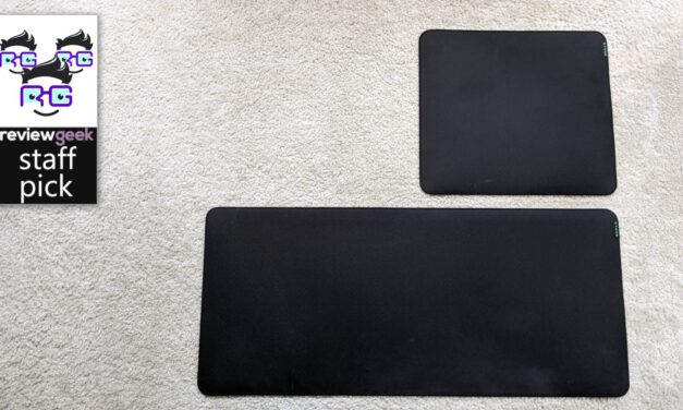 Razer Strider Mousepad Review: Covering All the Bases, and Your Desk Too