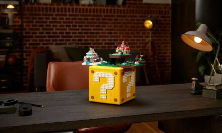 LEGO Shoved 4 'Super Mario 64' Levels Into a Life-Sized Issue Mark Block